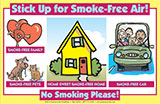 Stick Up for Smoke-Free Air! Sticker Sheet