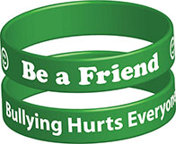 Be a Friend Wristband