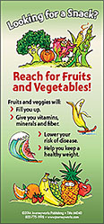 Reach for Fruits and Vegetables! Magnet