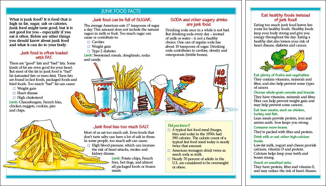 Junk Food Facts - journeyworks com