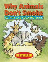 why animals dont smoke activity and coloring book