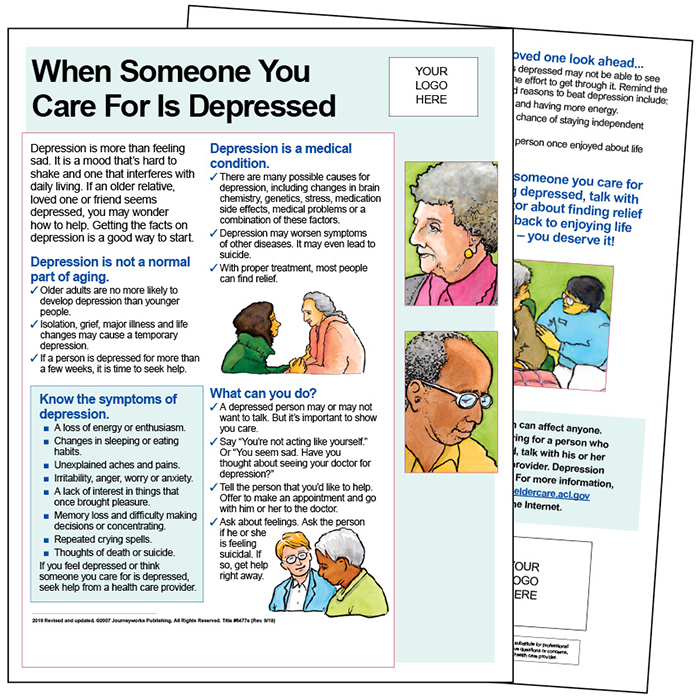 how to get help for a depressed family member